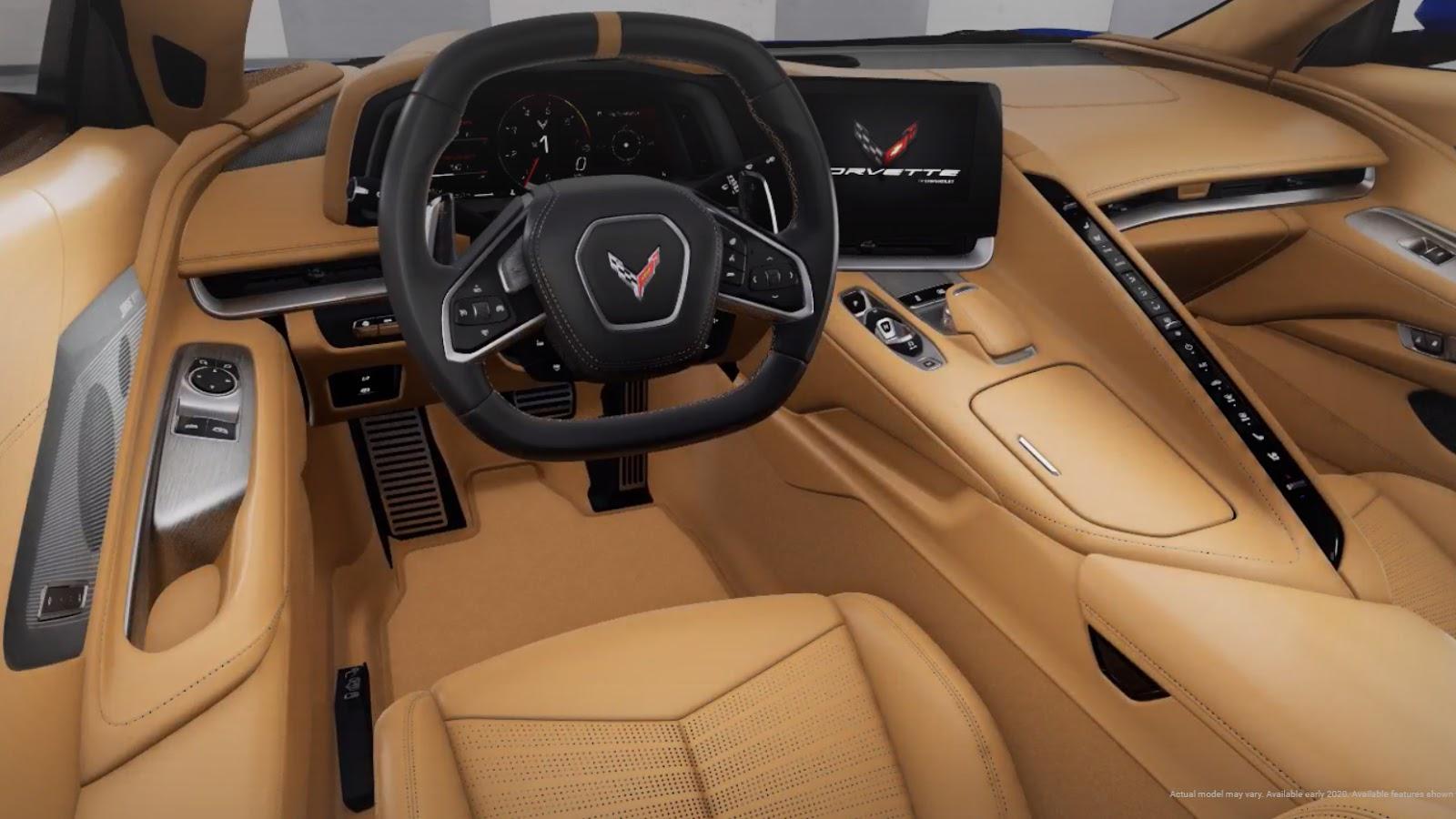 Automotiveblogz Corvette C8 Interior Colors 2019