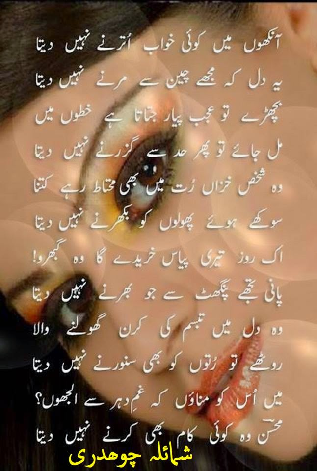 Love Poetry Wallpaper In English : Global Pictures Gallery: Romantic Urdu Shayari Full HD Wallpapers