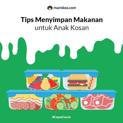 Tips Menyimpan Makanan untuk Anak Kosan