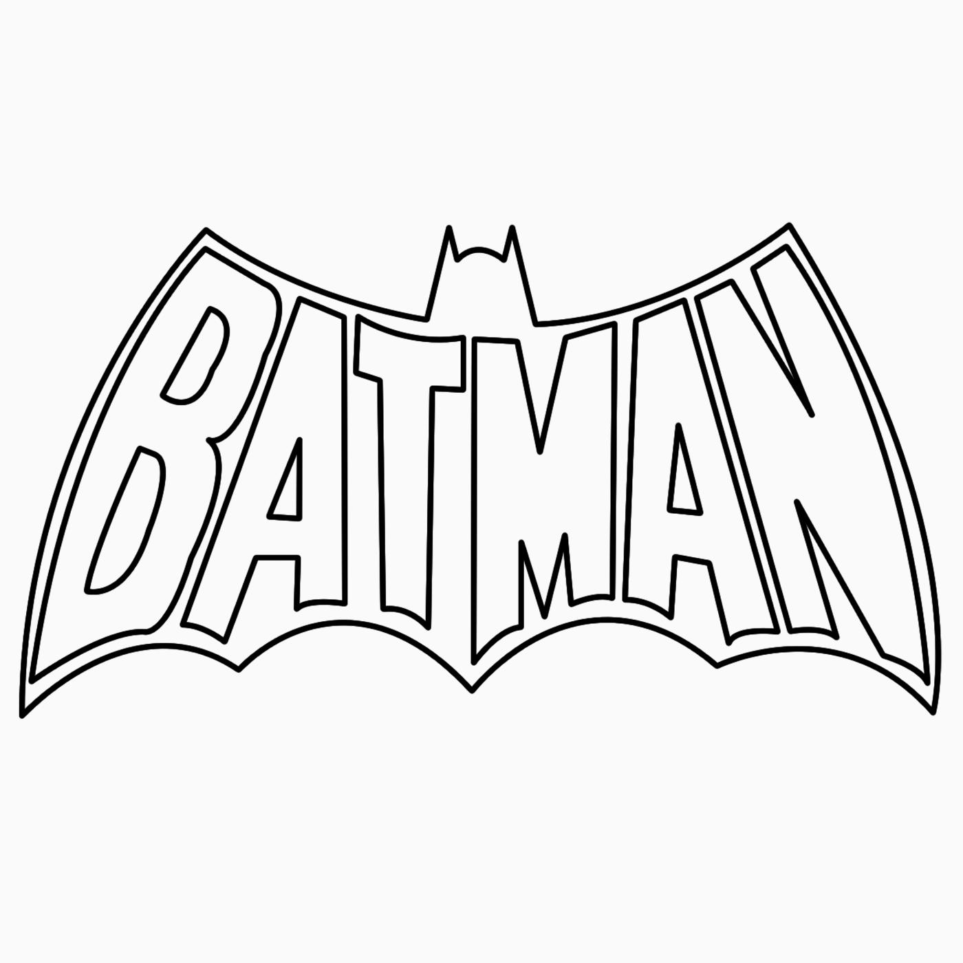 Batman Logo Drawing | Batman Logo Coloring/Drawing Pages ...