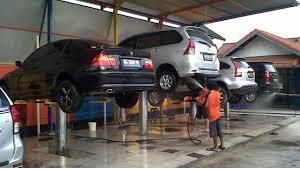 Cara Kerja Pompa Hidrolik di Pencucian Mobil