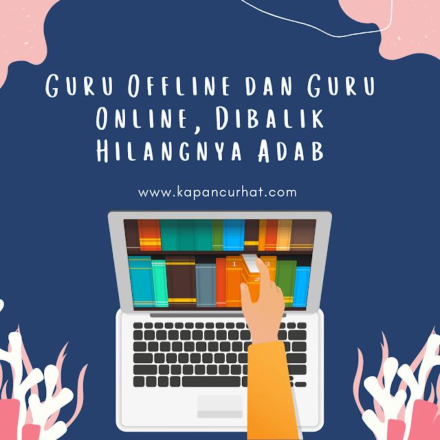 guru offline dan guru online
