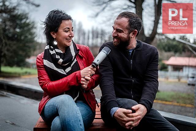 Olga Barbosa y Rodrigo Vásquez