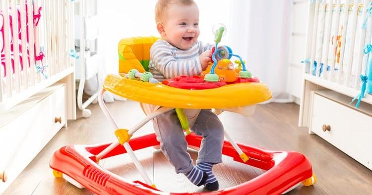 Baby Walker Multifungsi Ini Membuat Bayi Aktif dan Ceria