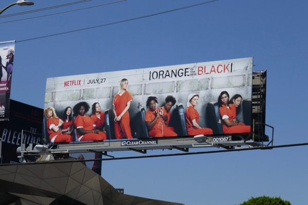 Orange is the New Black season 6 billboard