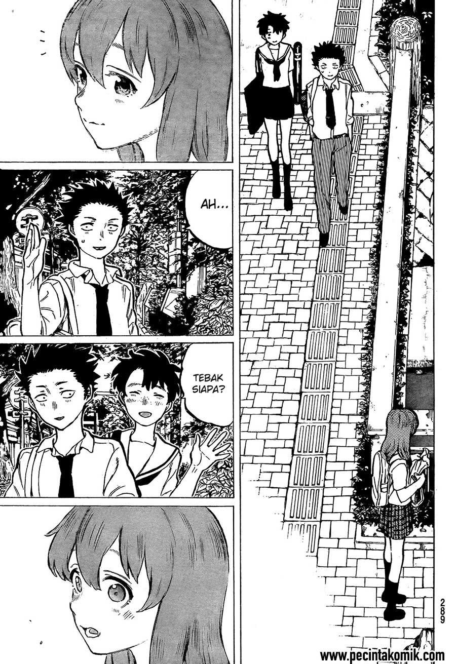 Koe no Katachi Chapter 16-18