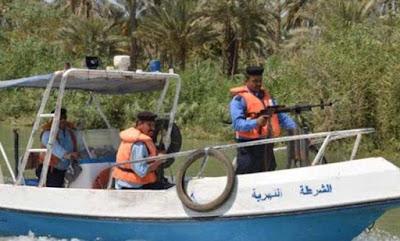 الشرطة النهرية تنتشل جثة غريق بنهر الفرات في السماوة
