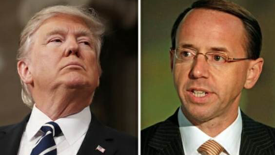 DOJ agrees to allow Congress to review requested classified docs after Trump meets with Rosenstein, Wray