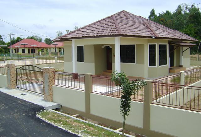 desain rumah sederhana ala kampung