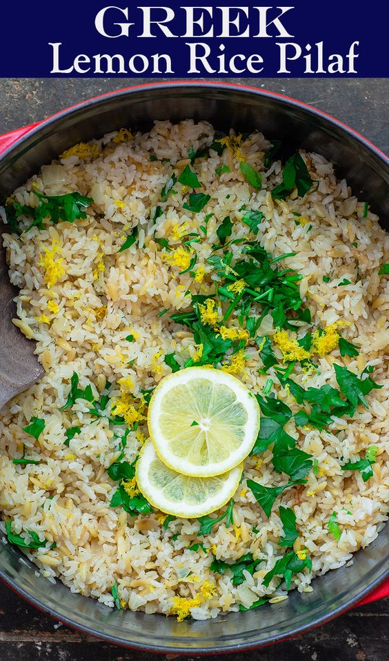 GREEK LEMON RICE RECIPE #recipes #dinnerrecipes #dishesrecipes #dinnerdishes #dinnerdishesrecipes #food #foodporn #healthy #yummy #instafood #foodie #delicious #dinner #breakfast #dessert #lunch #vegan #cake #eatclean #homemade #diet #healthyfood #cleaneating #foodstagram