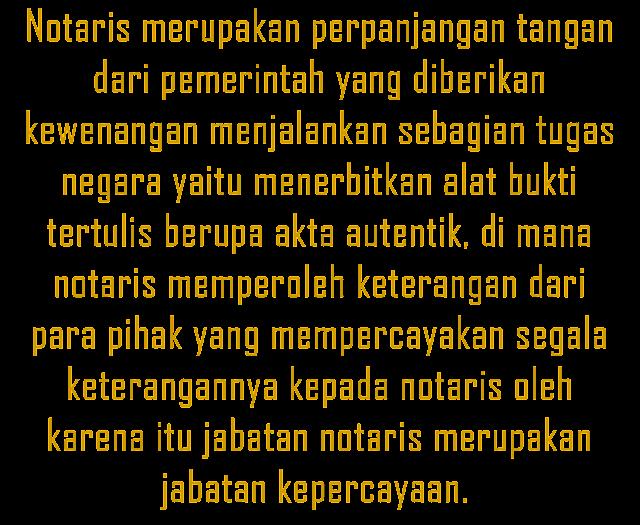 "Notaris Lumajang: ""HAK INGKAR NOTARIS SEBAGAI WUJUD PERLINDUNGAN HUKUM"""