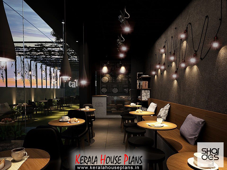 Coffee shop interior design kerala house plans designs for Coffee shop interior design ideas
