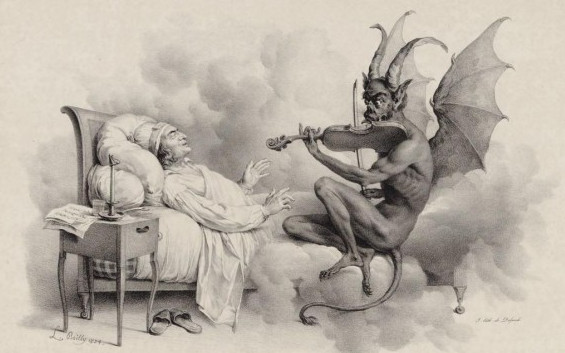 The Devil's Sonata, Alunan Biola Iblis