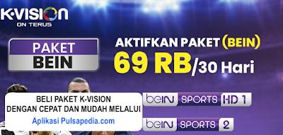 Paket beIN Sports K Vision Terbaru (BEIN)