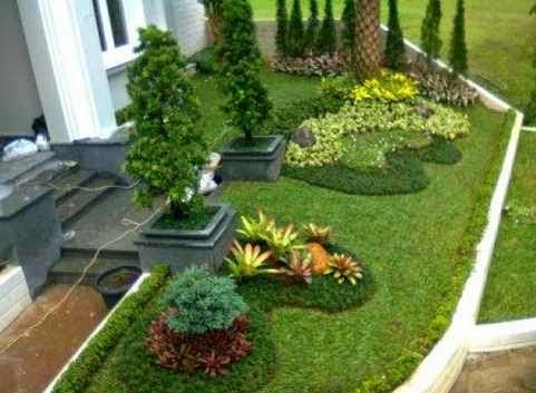 Gambar Taman Minimalis Yang Sedang Marak Saat Ini Rumah Idaman