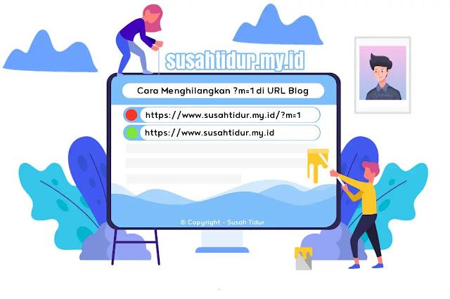 Cara Menghilangkan ?m=1 pada URL blog