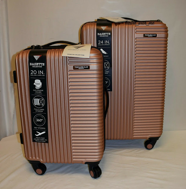 iFLY Hardside Fibertech 2 piece Luggage Set