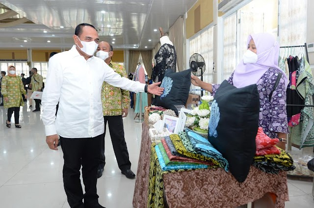 Gubernur Edy Ingatkan Dekranasda Jalin Kemitraan di Daerah