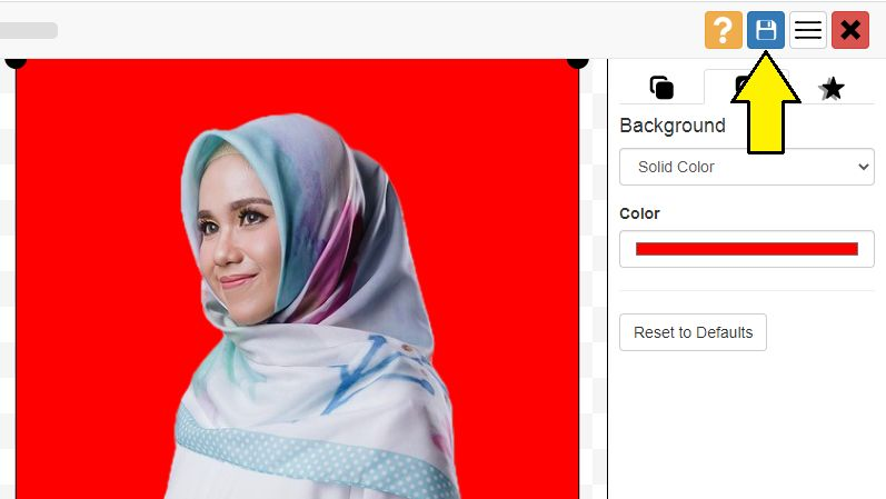 2 Cara Edit Foto Background Merah Online Dengan Cepat Mudah Klik Refresh