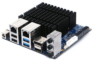 POWERFUL SINGLE BOARD COMPUTER WITH INTEL PROCESSOR (ODROID-H2)