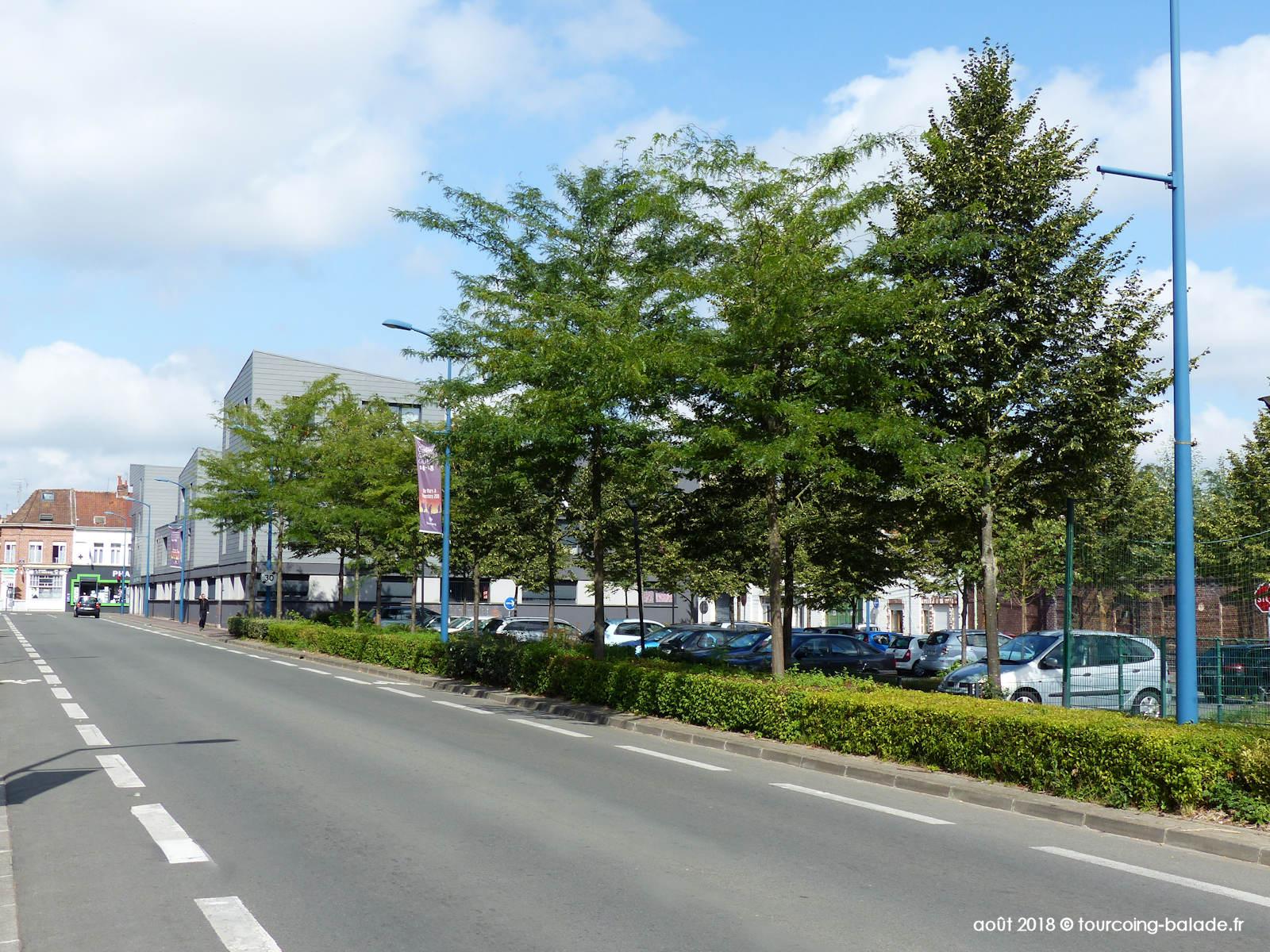 Rue du Docteur Dewyn, Tourcoing 2018