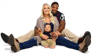 David Johnson With His Family