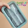Kotak Makan Sekat 2 Free Sendok Sumpit Anti Tumpah 850 ml - BPA Free - OR 0227 - 2 Warna