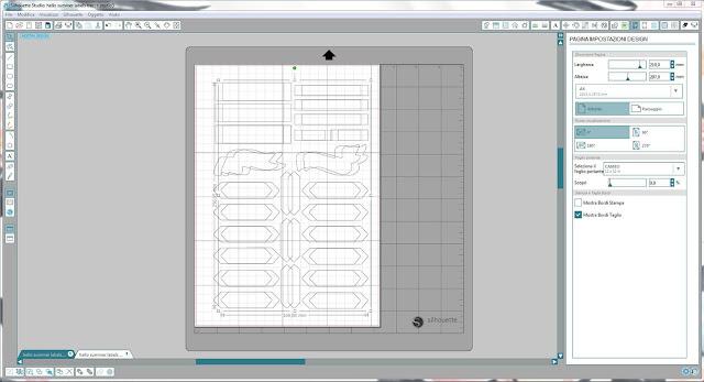 Come utilizzare i file dxf nella modalità Print & Cut | Silhouette Cameo 6