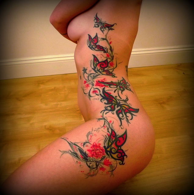 Females With Tattoos Female Tattoos Tumblr Designs Quotes On Side Of