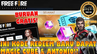 Kode Redeem Magic Cube