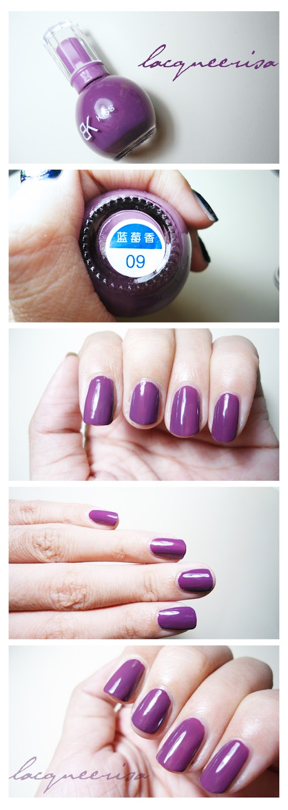 BeauKiss 09 Nail Polish Review