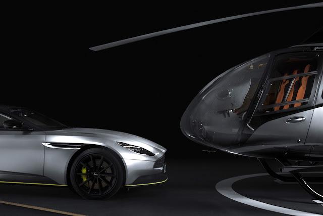 アストンマーティンとエアバスがコラボしたヘリコプターが登場!