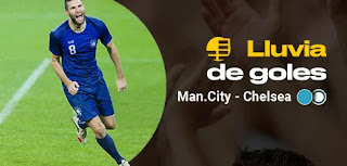 bwin promo lluvia goles city vs Chelsea 23-11-2019