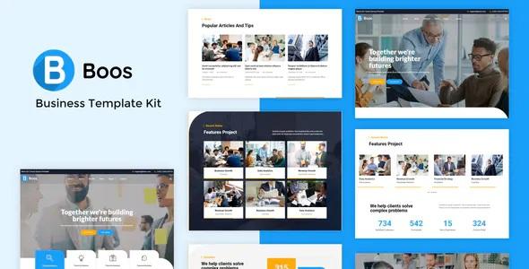 Best Business Elementor Template Kit