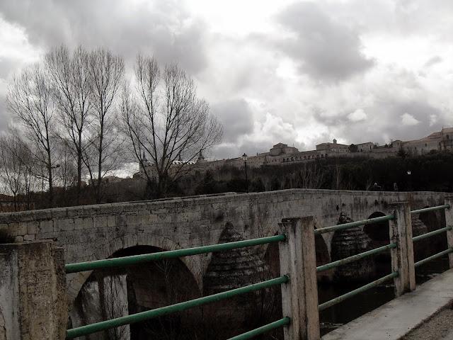 llegando a Lerma, puente
