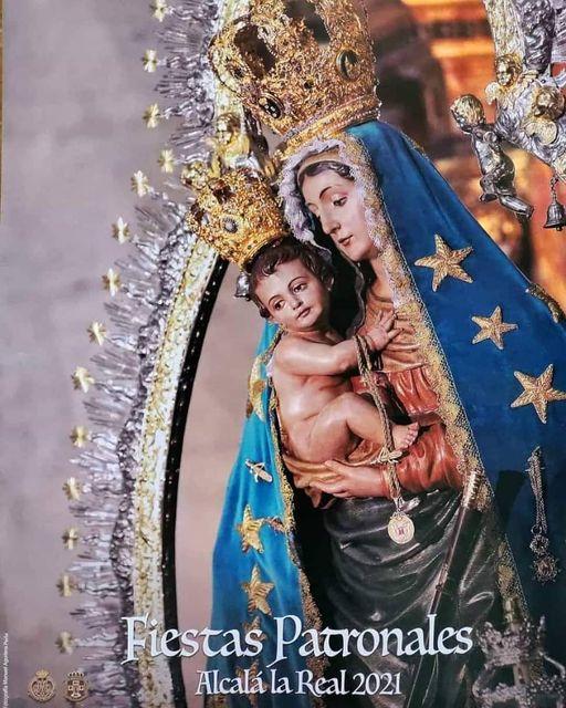 Cartel de Nuestra Señora de las Mercedes Coronada 2021 de Alcalá la Real
