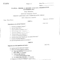 mgu B a Economics semester 1 methodology of social science
