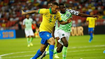 Nigeria Vs Brazil: Aribo Fires Nigeria Ahead Against Brazil