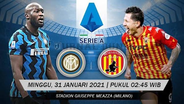 Prediksi Inter Milan Vs Benevento