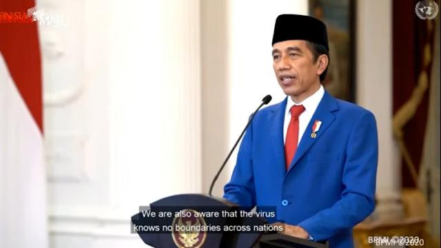 Jokowi di Sidang PBB: Ekonomi Harus Prioritaskan Kesehatan