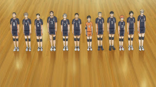ハイキュー!! アニメ 3期10話   烏野高校    Karasuno vs Shiratorizawa   HAIKYU!! Season3