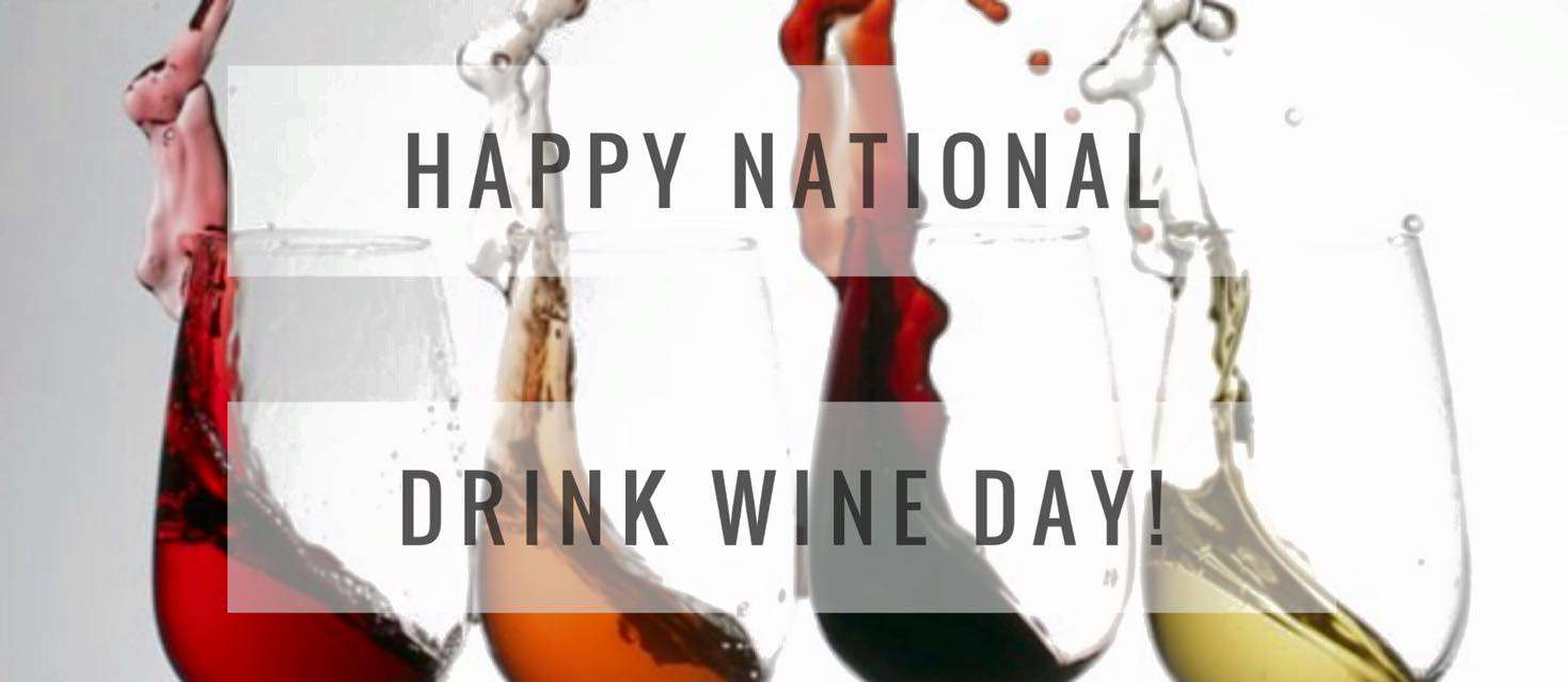 National Drink Wine Day Wishes Beautiful Image