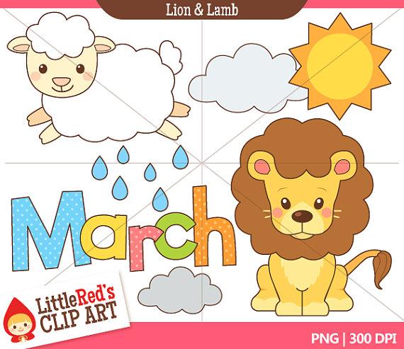 Images Of March Lion Lamb Clip Art Rock Cafe
