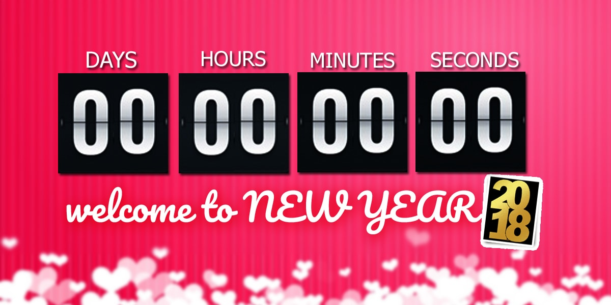 Happy New Year 2018 Countdown   Countdown to New Year 2018 Happy New Year 2018 Countdown
