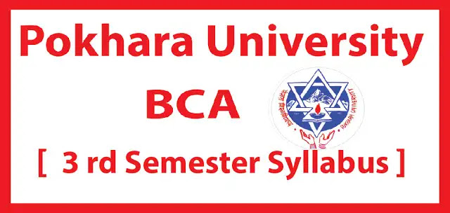 Pokhara University third semester syllabus