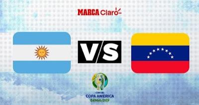 Venezuela vs Argentina Live Copa America 28.6.2019