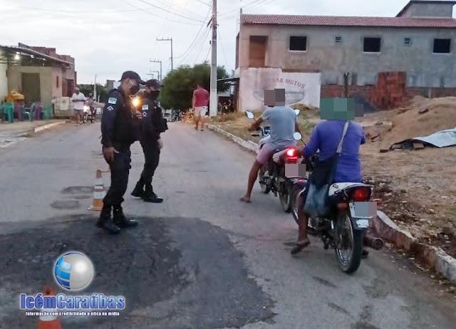 Polícia Militar realiza blitz e apreende 5 motos para regulagem em Campo Grande