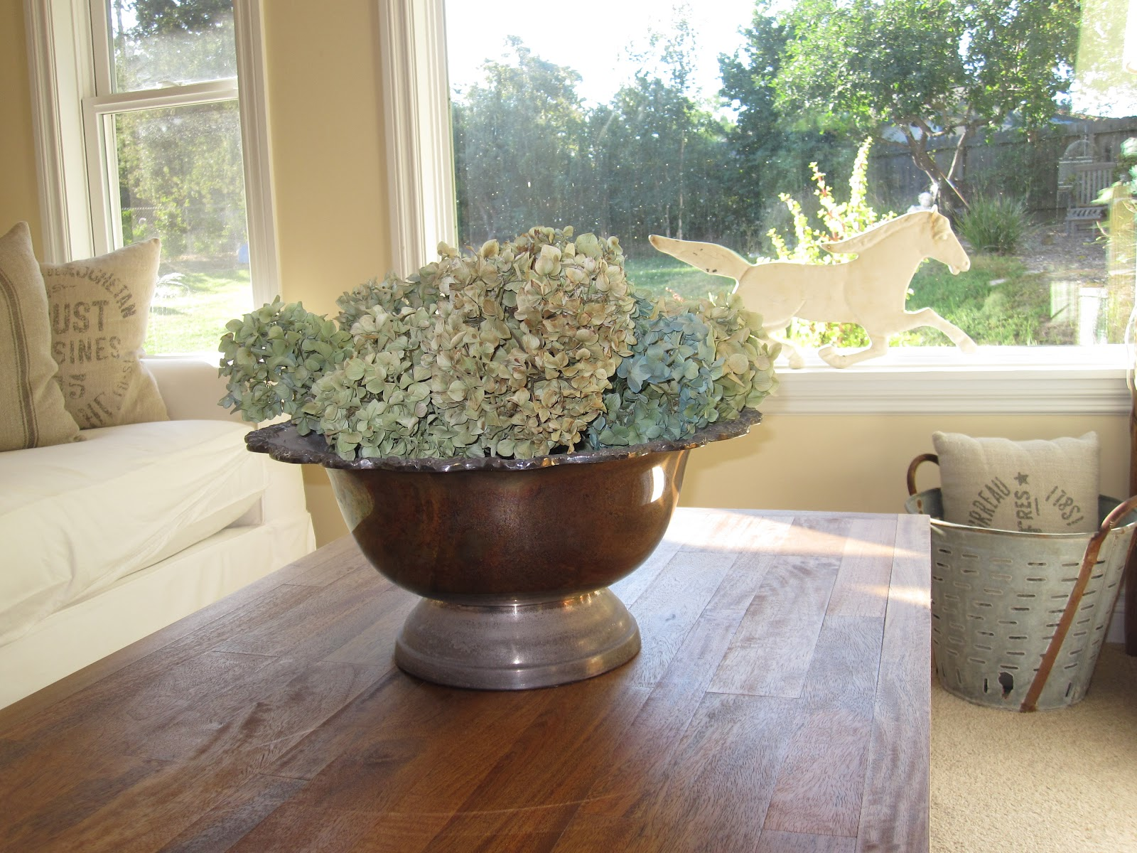 ANTIQUECHASE: Decorating with Vintage Silver Punch Bowls
