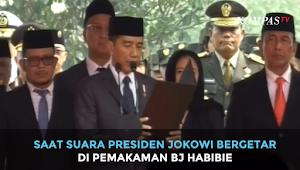 Kesalahan Fatal Jokowi Ucap Istirja' Saat Sambutan Pemakaman Habibie