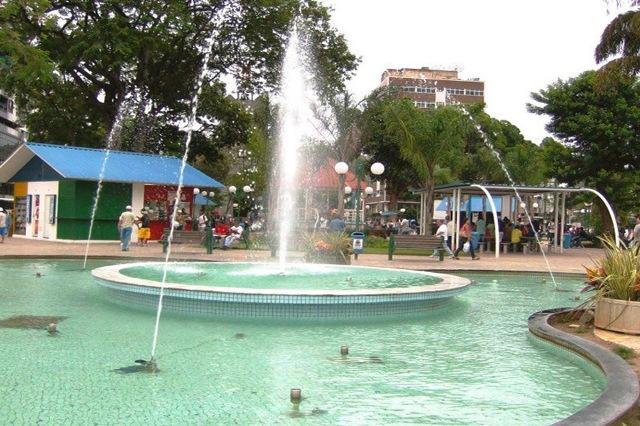 Praça Nilo Peçanha, Barra do Piraí, Vale do Café, Rio de Janeiro